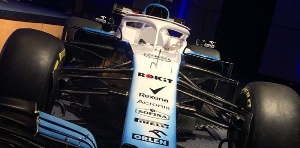 Nouvelles couleurs de Williams Racing