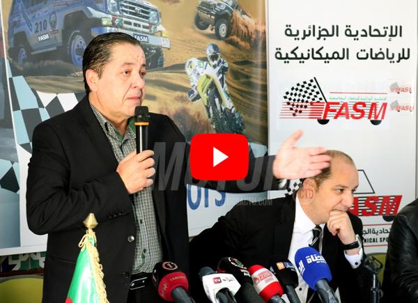 Karim Benhamiche - Président de la fédération algérienne des sports mécaniques