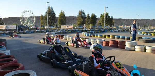 Première manche du championnat national du Karting
