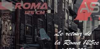 As Motors best-seller Roma 125cc