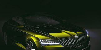Teaser nouvelle Skoda Superb facelift
