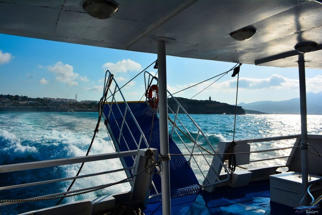 Alger tamenfoust bateau