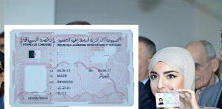 permis de conduire biométrique algérie