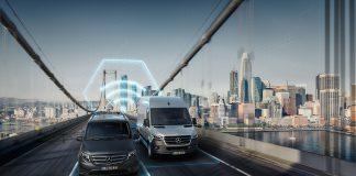 Neue digitale Dienste bei Mercedes PRO connect: Zu einer effizienteren und nachhaltigeren FahrzeugflotteNew digital services from Mercedes PRO connect: En route towards a more efficient and sustainable fleet
