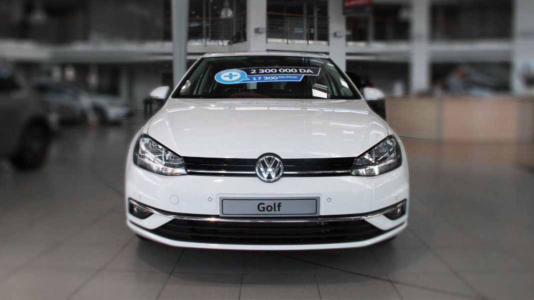 Volkswagen golf start+ sovac algérie