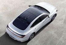 hyundai sonata hybride avec toit photovoltaique
