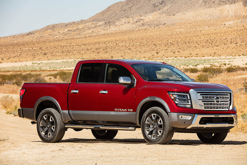 nissan titan 2020 debuts at state fair of texas - motors actu