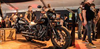 Harley-Davidson 2020 motorcycles on show at the European Bike Week in Austria