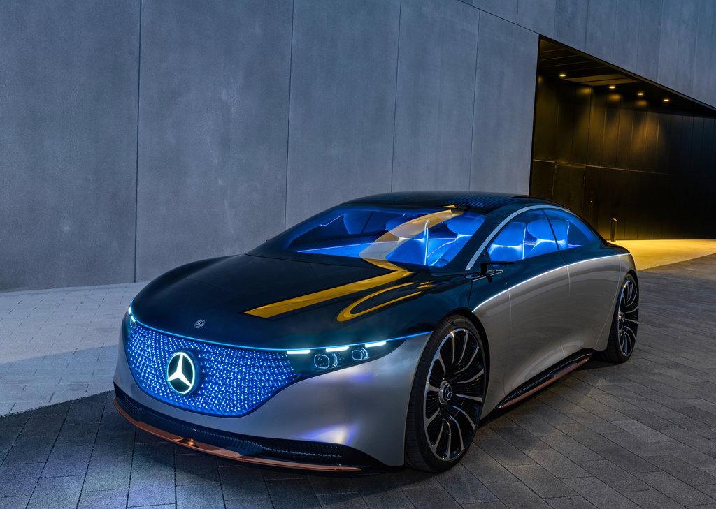 Mercedes-Benz Vision EQS Concept : Un aperçu des futures ...